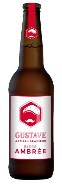 bière ambrée gustave au coeur du malt