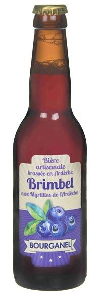 bière artisanale brimbel 33cl ardèche bourganel