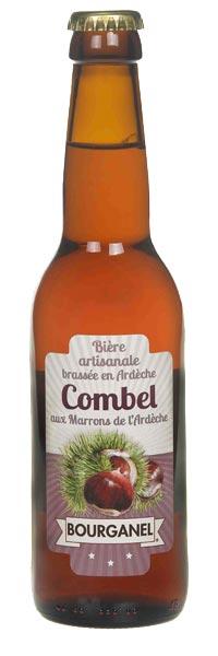 bière artisanale combel 33cl ardèche bourganel