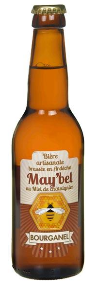 bière artisanale maybel 33cl ardèche bourganel