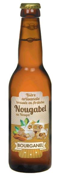 bière artisanale nougabel 33cl ardèche bourgabel