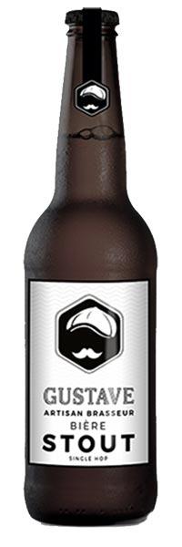 bière stout gustave au coeur du malt